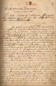 Carta-de-Pedro-de-Valdivia-al-Emperador-Carlos-V